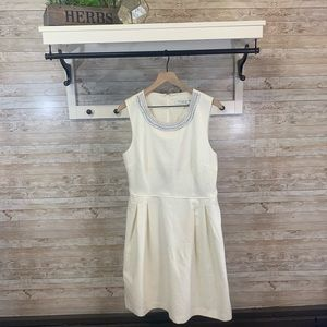 NWT Trina Turk beaded neck dress